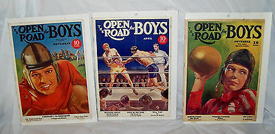"""Vintage 1930's? """"The Open Road For Boys Magazine"""".. Nice."""