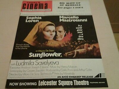 Today's Cinema. The Paper of the Entertainment Industry. Tues 18th Aug.1970.