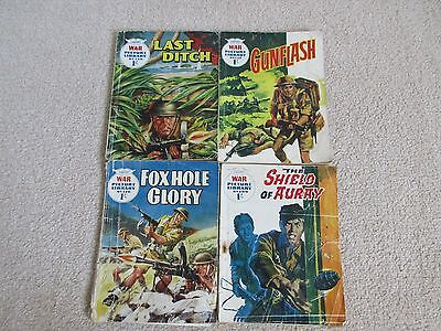 War Picture Library comics x 4- No's 136, 157, 170, 199- From 1962/1963