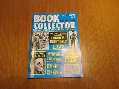 Book Collector 122 Elinor M Brent Dyer, TS Eliot, Modesty Blaise