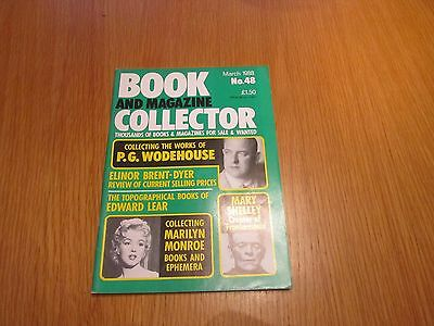 Book Collector 48 PG Wodehouse, Elinor M Brent Dyer review, Marilyn Monroe