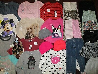NWT'S 25Pc. Girls 3T FALL WINTER Lot Clothes & Outfits Old Navy TCP Jumping Bean