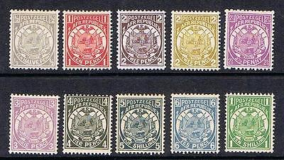 STAMPS TRANSVAAL  ARMS  (MINT HINGED)  lot 240h