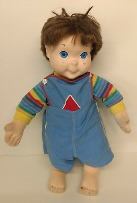 Vintage My Buddy Doll Brown Hair Blue Eyes Clothes