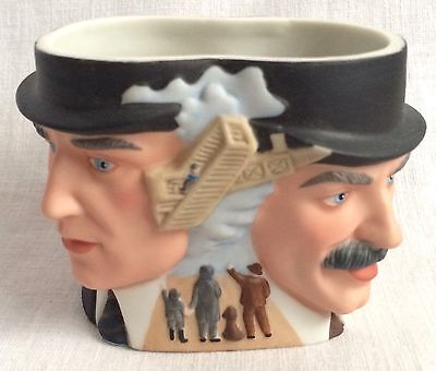 Wright Brothers Bisque Head Cup Coffee Mug 3 Dimensional