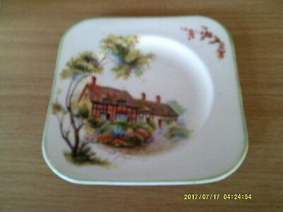 Woods Ware England Side Plate Cottages
