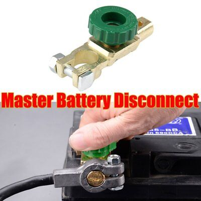 Brand New Battery Master Disconnect Cut Off Isolator Kill Switch Brass