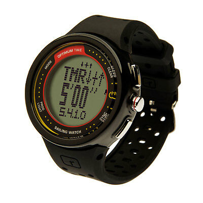 Optimum Time Series 12 Sailing Watch - OS12R - Rechargeable - Black