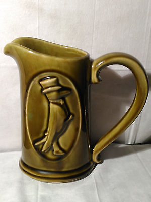 Vintage Old Crow Distrilly Co. Ky., Sraight Bourbon Pitcher G/condition!!
