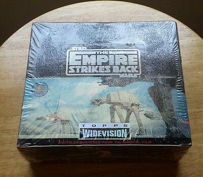 *Sealed* Star Wars The Empire Strikes Back Topps Widevision Trading Card Box