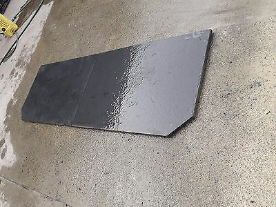 Slate hearth wood heater 20-25mm thick 580deep x 1780wide  we can cut to size,