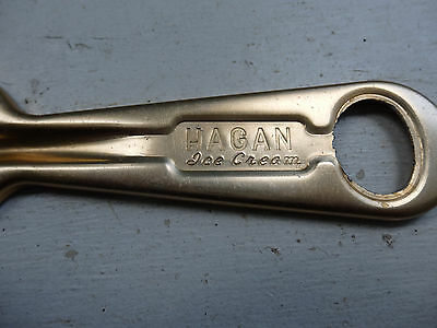 Hagan's Dairy, Uniontown, Pa., Gold Plated, Ice Cream Spoon
