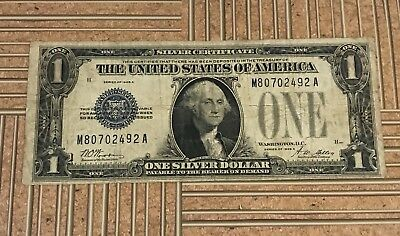 1928 $1.00 Silver Certificate Paper Money Lot VERY GOOD or BETTER Condition