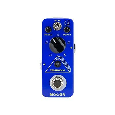 NEW Mooer Triangolo Digital Tremolo Electric Guitar Effects Pedal True Bypass