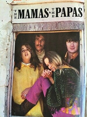 Vintage 1966 Mamas and The Papas Stereo Record Advertisement Music Ad