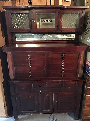 Antique Dental Cabinet-Unique Antique Cabinet