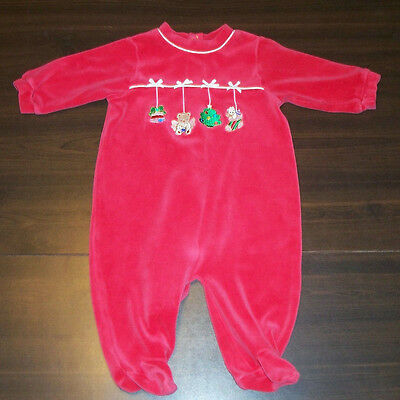 Christmas Romper Boys Girls size 3-6 months Bright Future Holiday One Piece