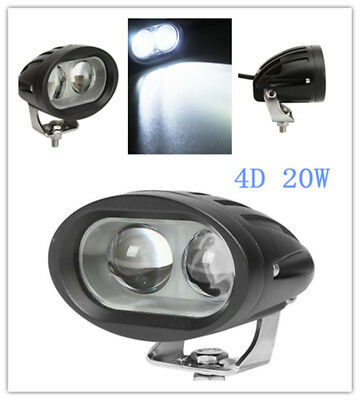 20W Marine Spreader Light LED Deck/Mast Light Spot Beam For Boat 12v-30v DC