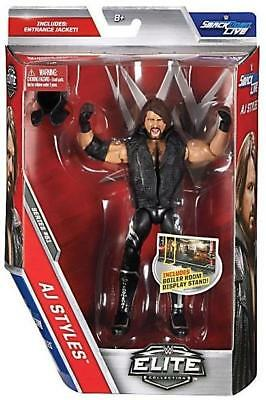 WWE Mattel Elite Collection 51 AJ Styles Wrestling Figure  NJPW TNA