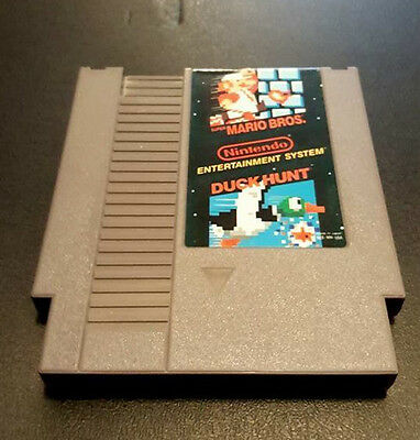 Super Mario Bros. / Duck Hunt -- Nintendo Entertainment System NES -- Game Only
