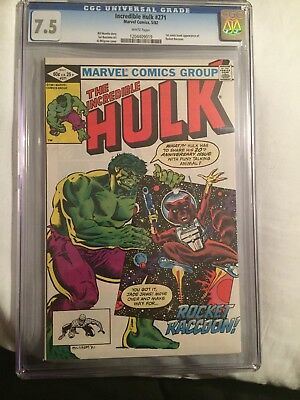 The Incredible Hulk #271 (May 1982, Marvel) CGC 7.5