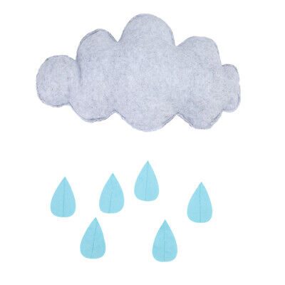 Fashion Children Room Lovely Hanging Decoration Clouds and Raindrops