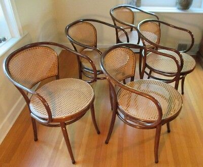 5 x THONET BENTWOOD CHAIR (STYLE 33)