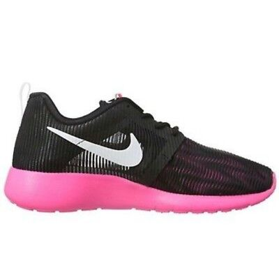 215ca92e67ed Nike Roshe One Flight Weight GS Running Youth 6.5Y Shoes Black Girls 705486 -002