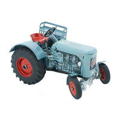 NEW CHILDRENS Wind Up Tin Toy Tractor - Lincoln