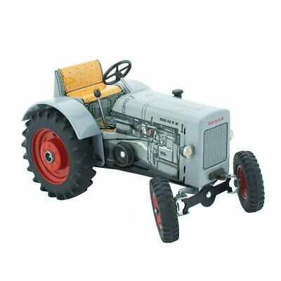 NEW CHILDRENS Wind Up Tin Toy Tractor - Levi