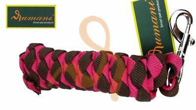 Rumani Quality Poly Braided / Plaited Horse Equestrian Lead Rope - Iron Snap