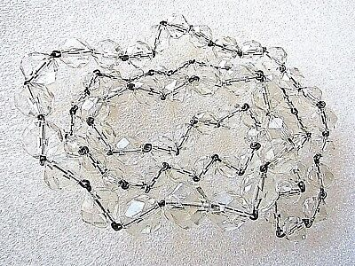 CRYSTAL STRAND NECKLACE 33 inch  (83.8cm Perfect