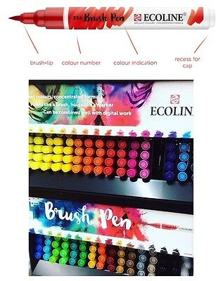 Talens Ecoline Liquid Watercolour Brush Pen (Any 3)
