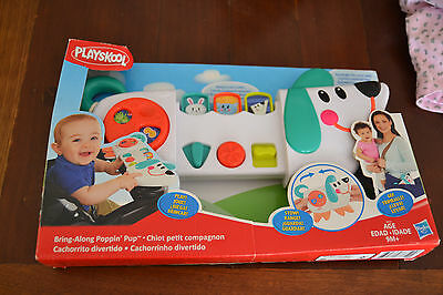 Hasbro Playskool Bring Along Poppin Pup - 9 months and up