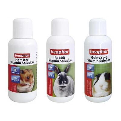 BEAPHAR Hamster Rabbit Guinea Pig Rodent VITAMIN SOLUTION Supplement Liquid