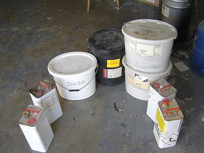 Polyurethane Resins And Various Fillers, As Seen