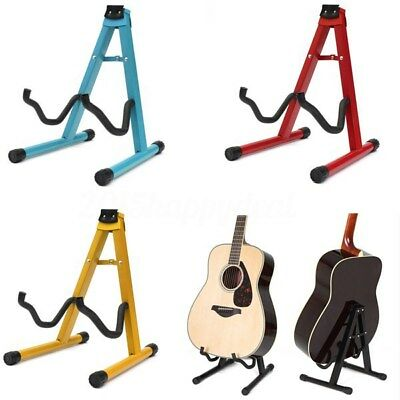 BABAN Guitar Floor Stand Holder A Frame Universal Fits Acoustic Electric Bass UK