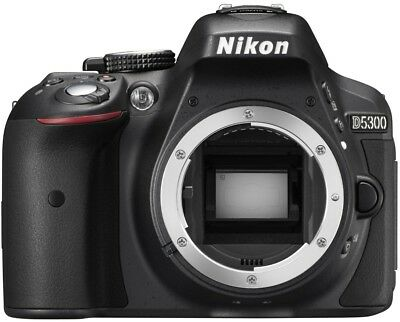 Nikon D5300 Digital SLR Camera Body Only (24.2 MP, 3.2 Inch LCD With Wi-Fi And