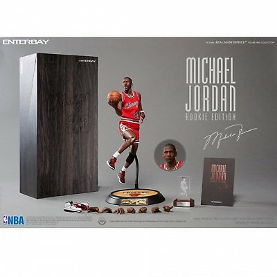 1/6 Enterbay NBA Michael Jordan MJ Rookie Chicago Bulls 23 Limited Action Figure