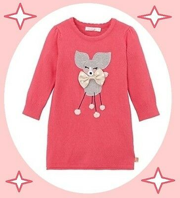 neuf Robe BILLIEBLUSH 18 mois Val neuf 60€ ROSE CANICHE ROYAL NOEUD chien