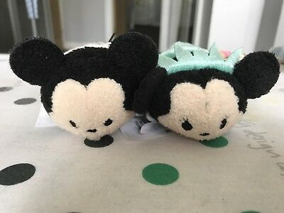 Disney Store New York NYC Tsum Tsums Mickey & Minnie