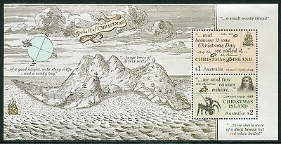 Early Voyages 2017 - Mnh Minisheet (Bl303)
