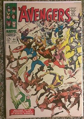 The Avengers #44 (Sep 1967, Marvel)