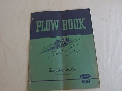 Harry Ferguson Inc.Plow assembly and Instruction Manual