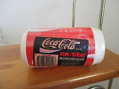 Vinatge Coca Cola Classic Soda Can Fun Turns Rubiks Cube Style