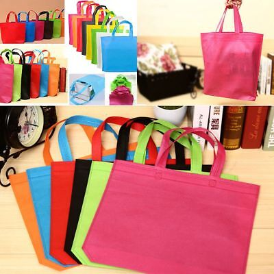 Fabric Shopping Bags Eco-friendly Pouch Tote Handbag Reusable Storage Grocery
