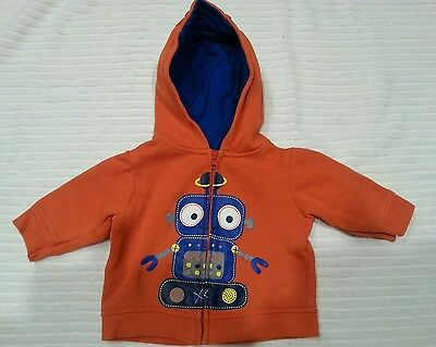 Boys Sprout robot hoodie Size 000