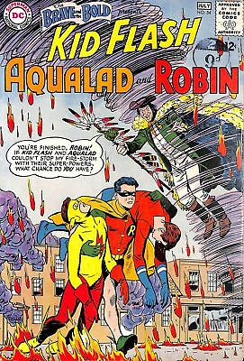 Brave and the Bold #54 FN 1st appearance of Teen Titans