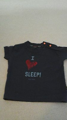 Paul Smith navy baby tshirt 6 months