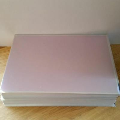 Craftroom Clearout KANBAN A6 Quality Metallic Cardstock 250 Gsm Pink 10 sheets
